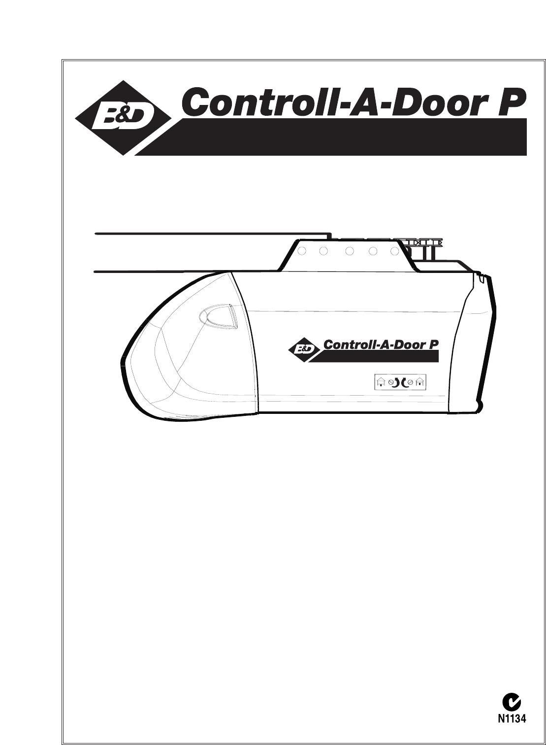 Chamberlain Garage Door Opener User Guide