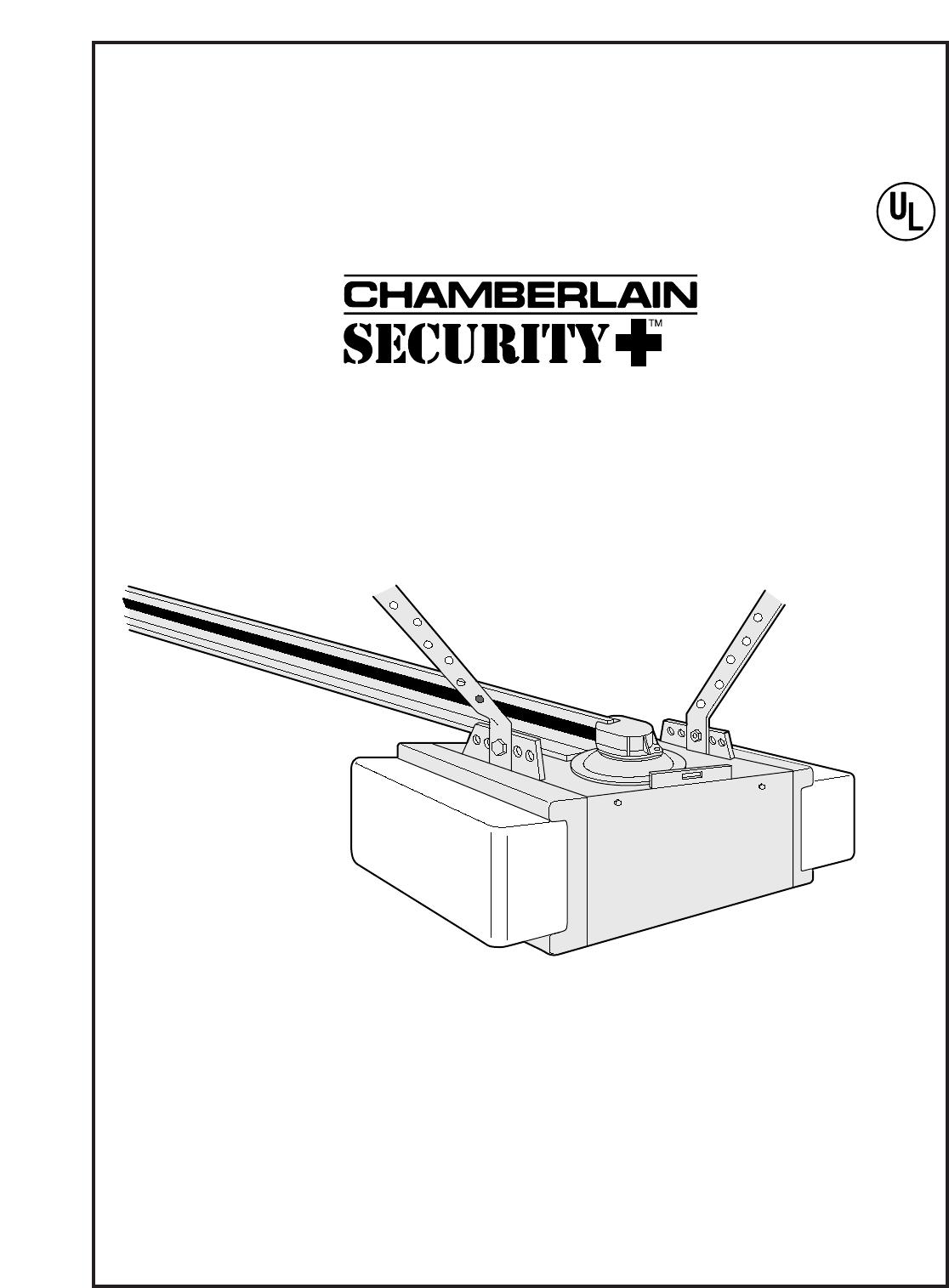 Chamberlain Garage Door Opener 1 2 Hp User Guide