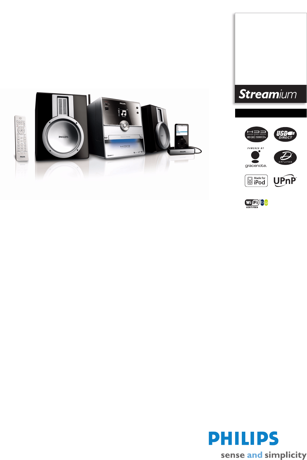 Philips Stereo System Wac D User Guide