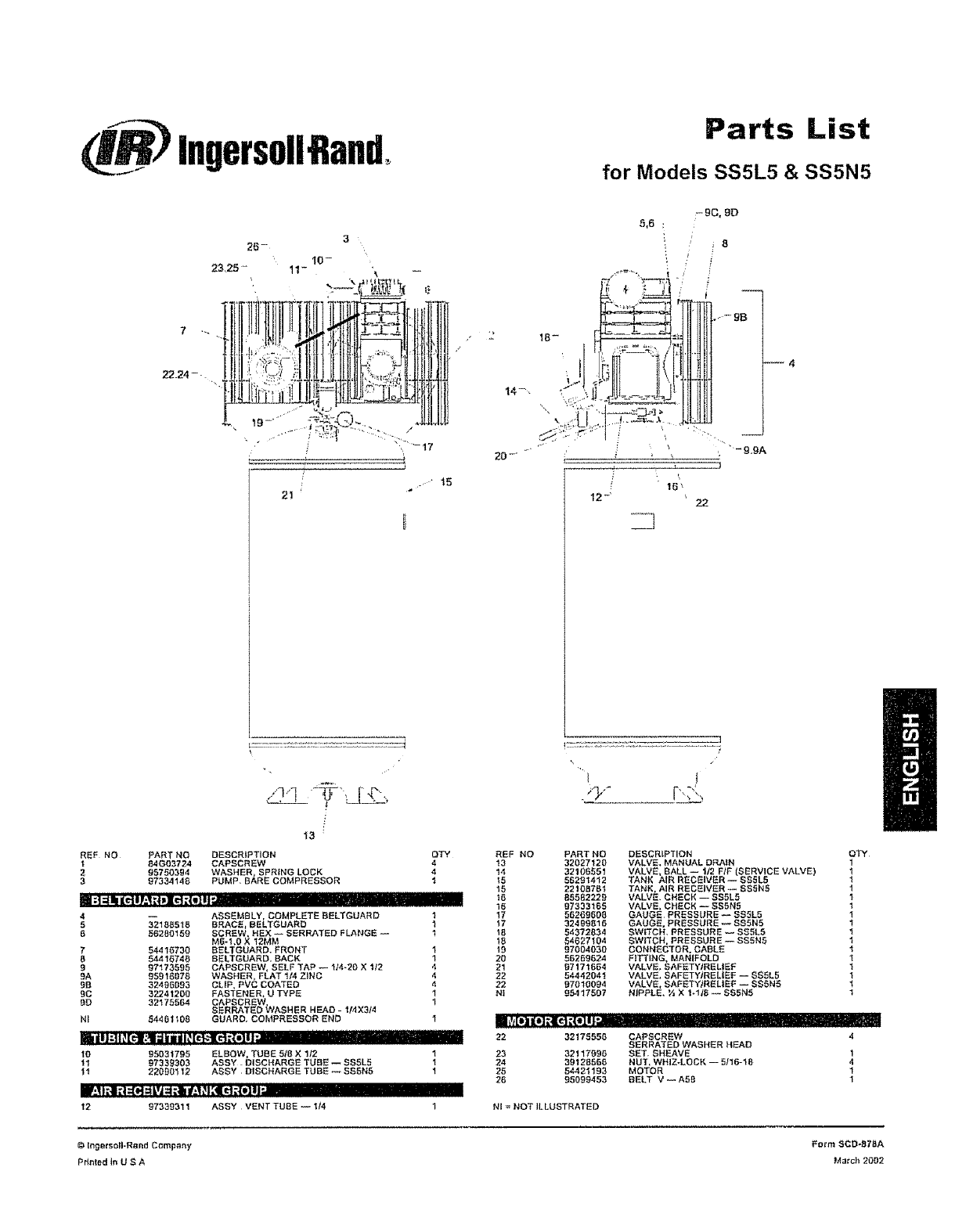 Ingersoll Rand Fuel Filter