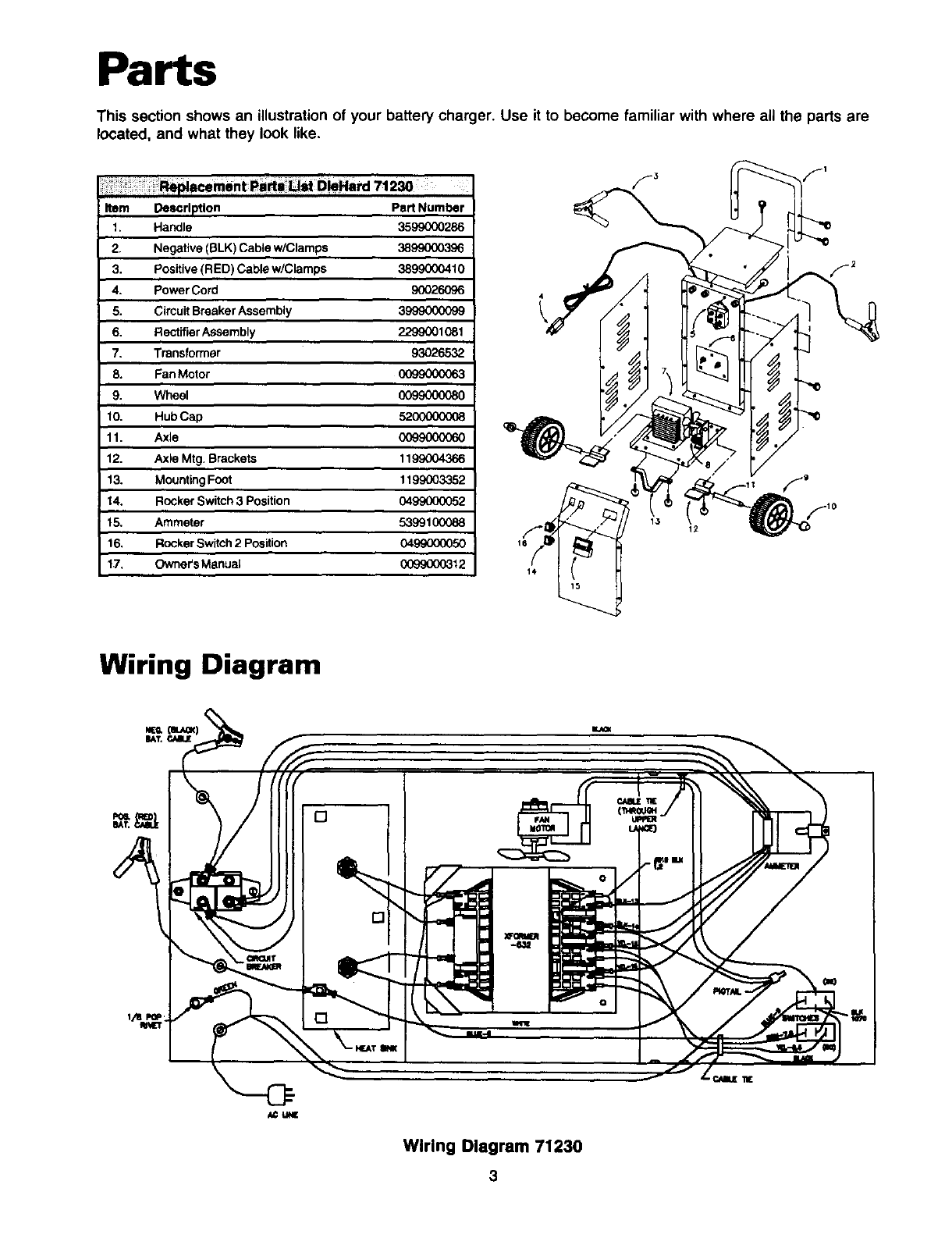 Page 4 Of Sears Automobile Battery Charger 200 User