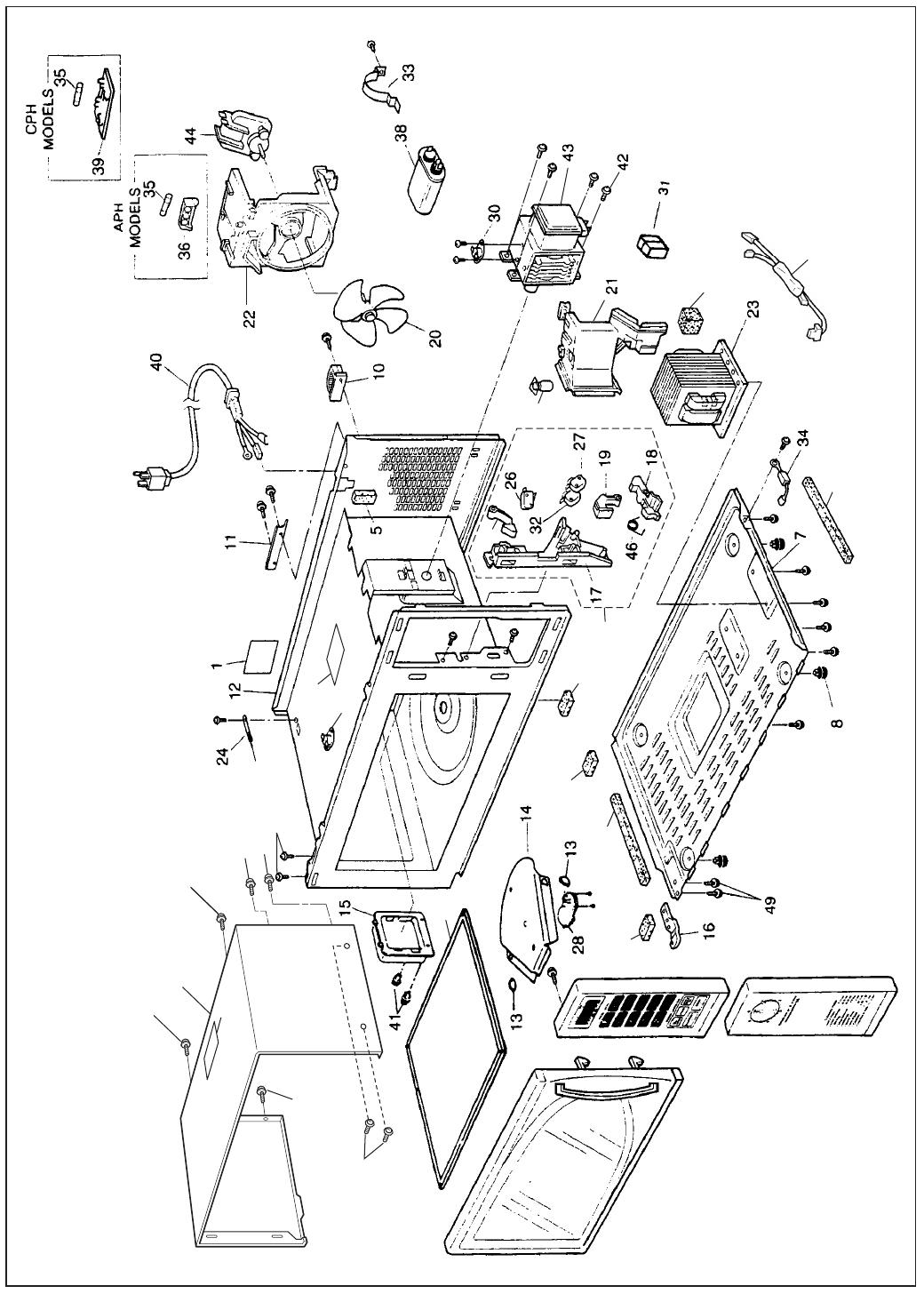 Panasonic Manual Microwave