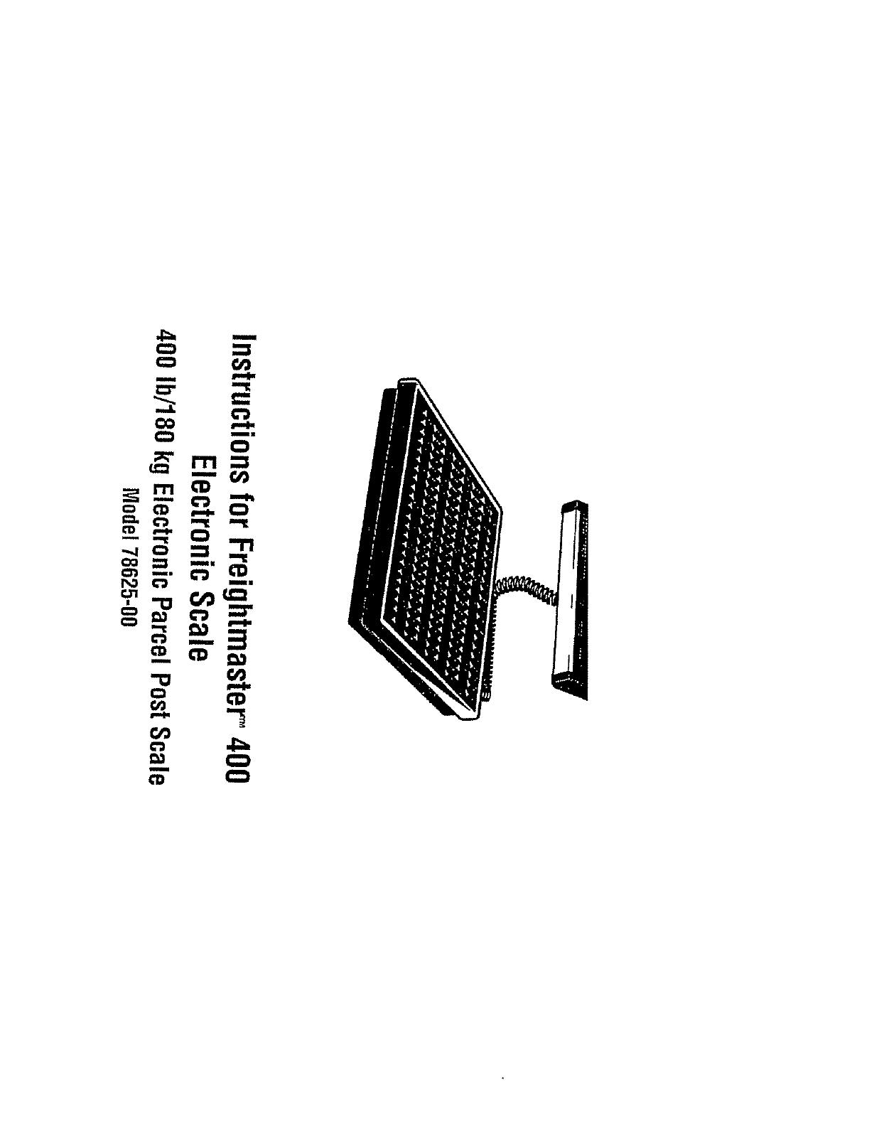 Sunbeam Postal Equipment 00 User Guide
