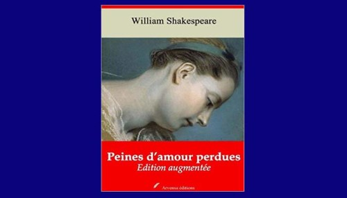 Peines D'amour Perdues Book