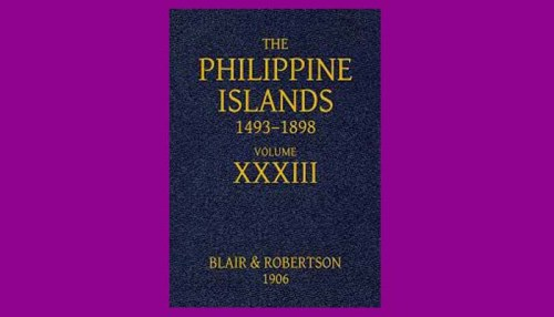 The Philippine Islands Book