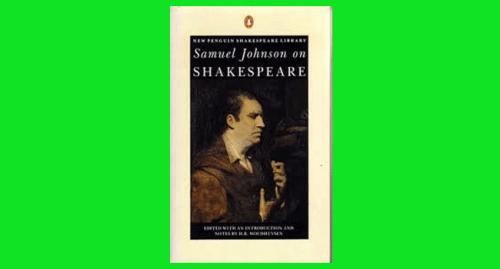 samuel johnson on shakespeare pdf