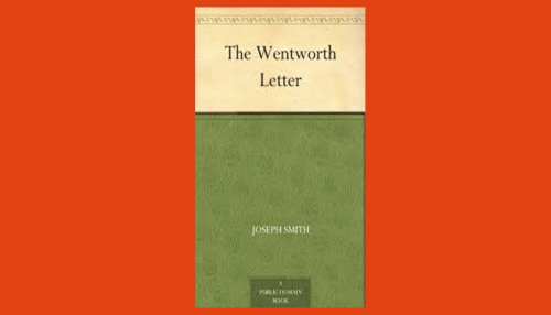 wentworth letter pdf