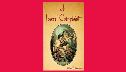 a lover's complaint pdf