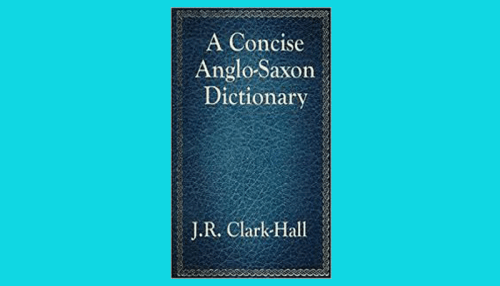 anglo saxon dictionary pdf