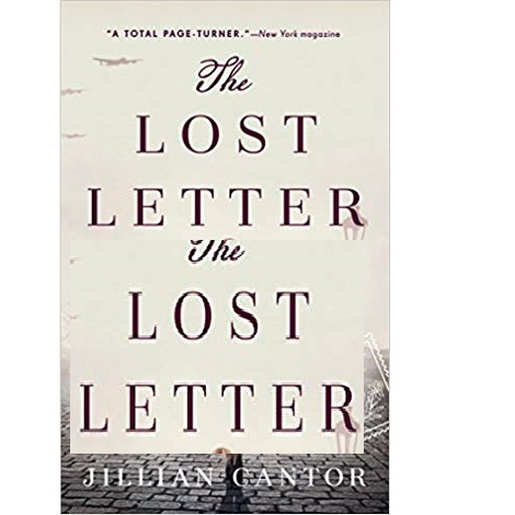 The Lost Letter By Jillian Cantor Free