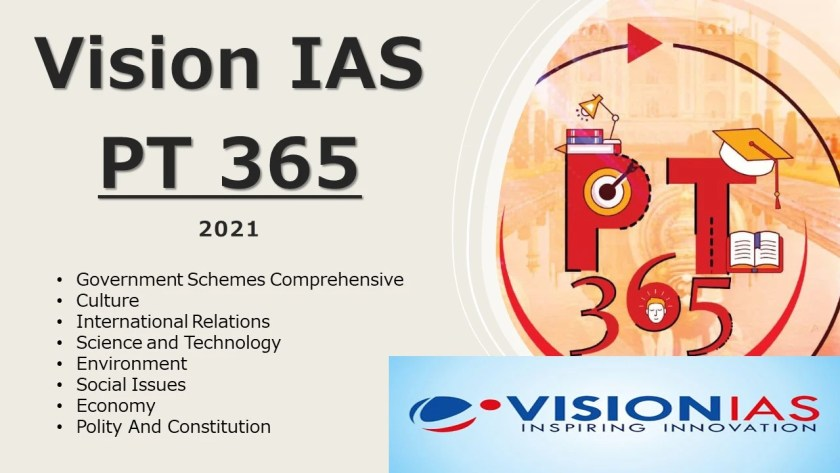Vision IAS PT 365 for 2021 PDF Download