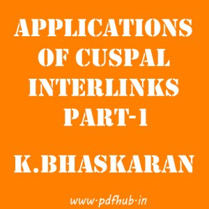 Applications of Cuspal Interlinks Part-1