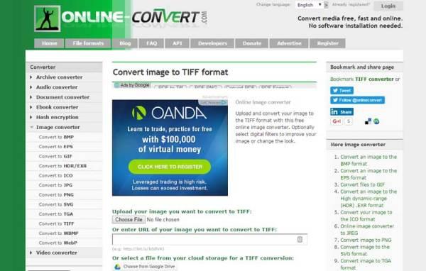 Top 6 Online PDF to TIFF Converter