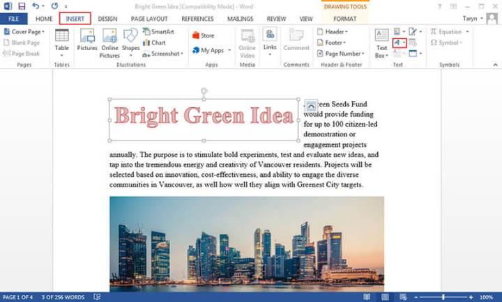 word online cx media design planter