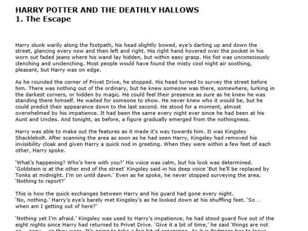 """Download """"Harry Potter And The Deathly Hallows PDF"""""""
