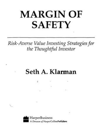 "Download ""Margin of Safety Seth Klarman PDF"""