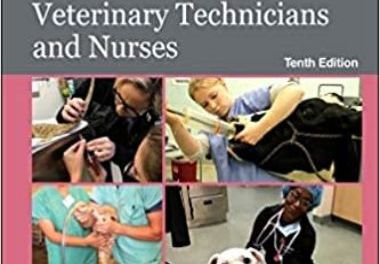 McCurnin's Clinical Textbook for Veterinary Technicians and Nurses Textbook 10th Edition