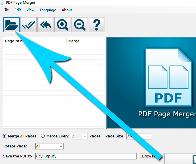 Open the PDF File