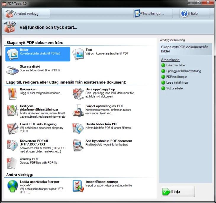 PDF-XChange PRO - PDF program - redigera, skapa, spara