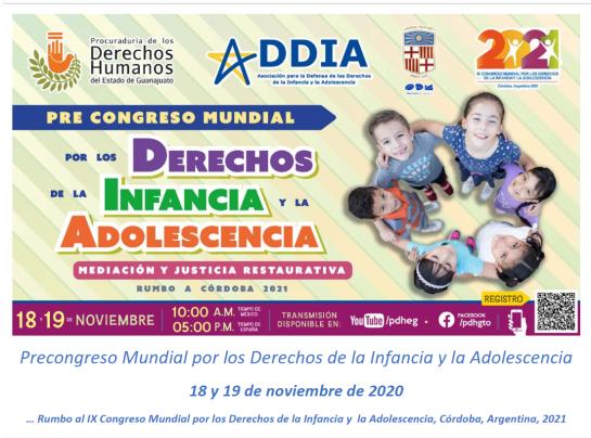 18-19N – El CNIAC al Precongrés Mundial dels Drets de la Infància i l'Adolescència