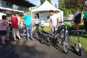 Essais de vélos