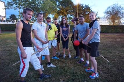 Quidditch Lorraine a initié des participants à ce nouveau sport !