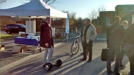 Essai de vélos et gyropodes avec Smart One