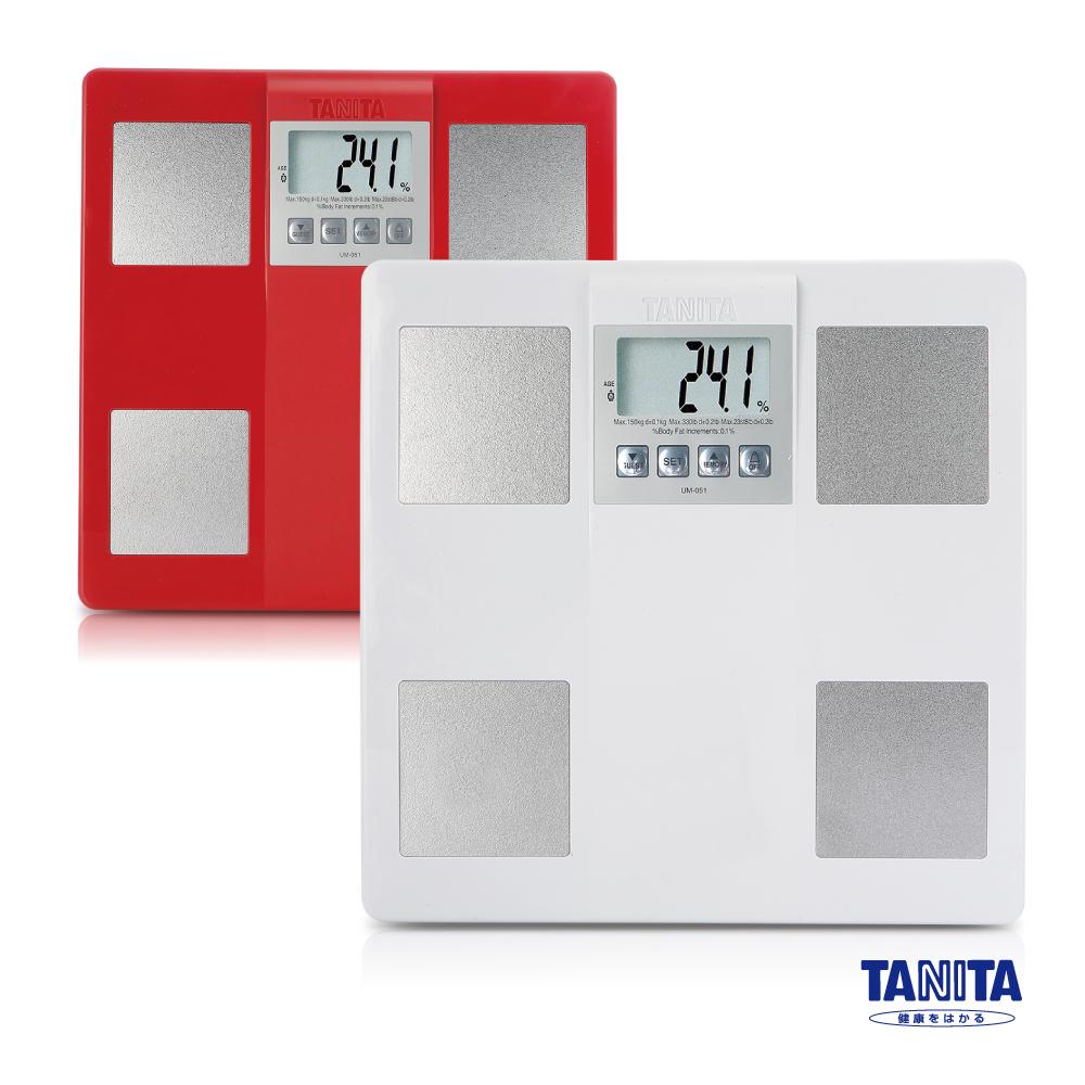 【日本TANITA】體脂計UM-051-珍珠白 - GP1601-003 - 神腦國際