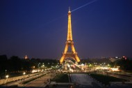 The tower, as seen from Trocadero