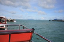Waiting for the boat to leave from Ko Samui