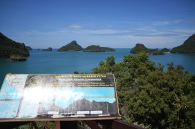 Viewpoint from the lagoon