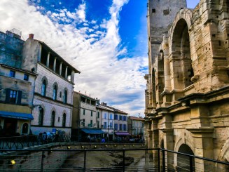 The Roman Amphitheatre of Arles, the largest and best preserved in France
