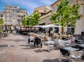 Place de Lenche, in the heart of the Pannier quartier. Situated where the ancient Greek agora was, in the colony of Massalia