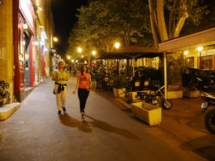 Cours Julien is another street filled with restaurants and cafes, very nice for a night walk, dinner and entertainment