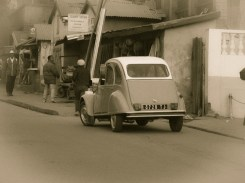 There are plenty of old Citroen 2CV's and Renault 5'. Many are used as taxis