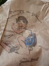 Patisserie paper bag