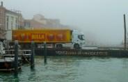 Billa supermarket truck, Venice, Italy
