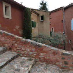 Roussillon - stairs