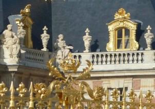 Golden boundary-Versailles, France