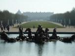 One kilometre-Versailles, France