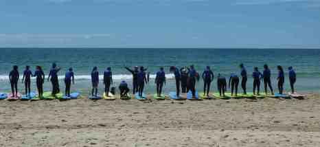 Surf lessons, Cronulla- Australia
