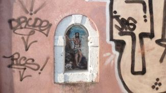 Walls- street art, Venice