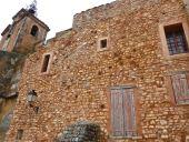 Walls, Rousillon, France