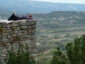 Walls, Bonnieux, France
