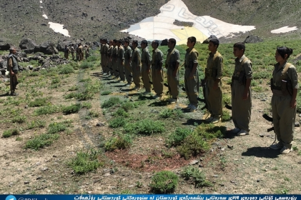 Graduation Ceremony for New Peshmerga Platoon Was Held in Halgord