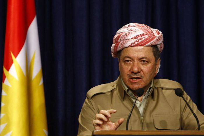 President Barzani Thanks PDKI Leader Hijri for Supporting the Independence Referendum