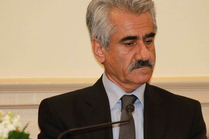 """PDKI Leader: """"The Fall of Kirkuk Is Not the End of The Road"""""""