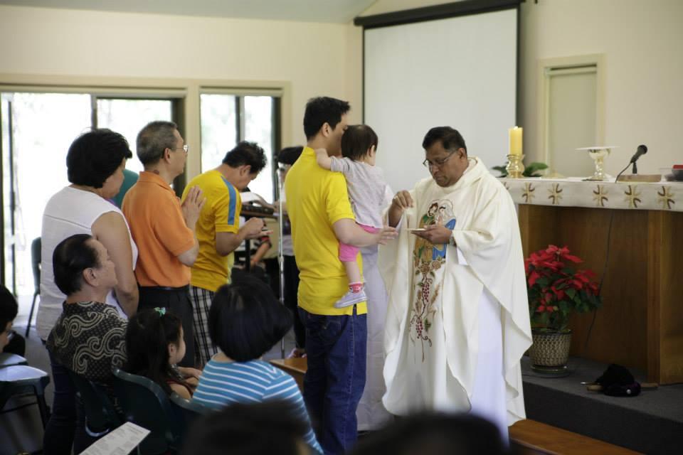 Misa Awal Tahun 2015 di Molgua, NSW