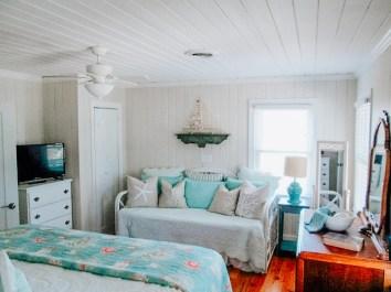See Turtle Cottage bedroom 1 trundle bed