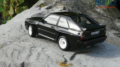 Photo of 1/18 : L'Audi Sport Quattro réalisée par Norev